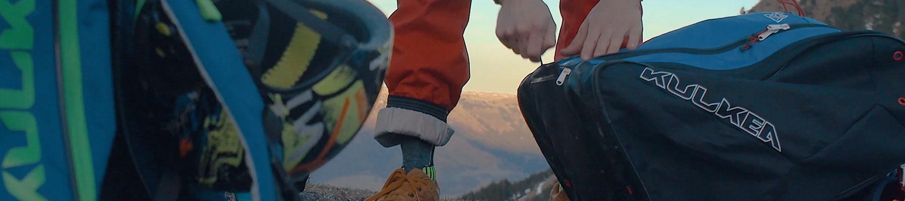 Kulkea Ski Boot Bags - Close up