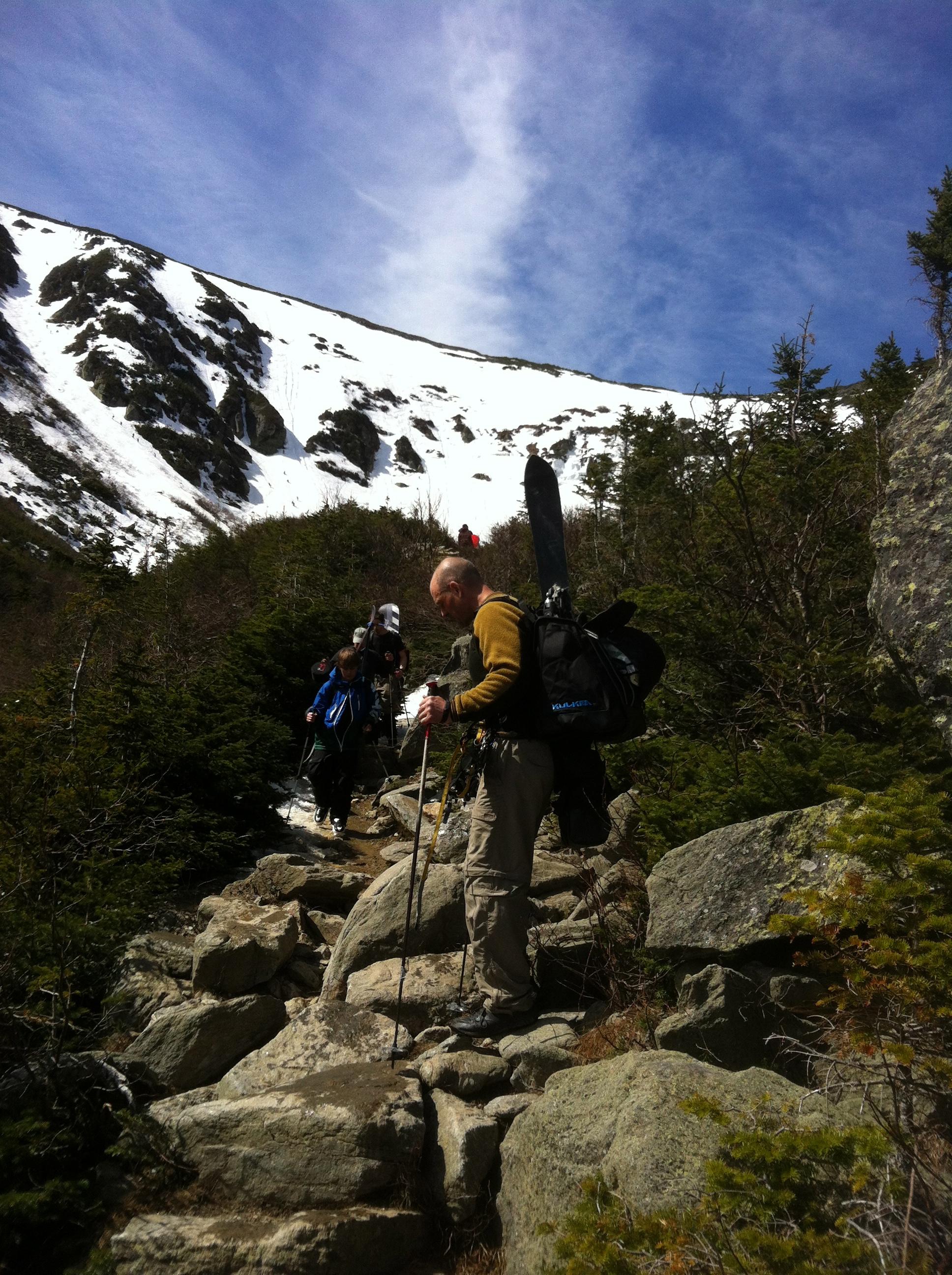 Ski Trekker Review From Tuckerman S Ravine Kulkea