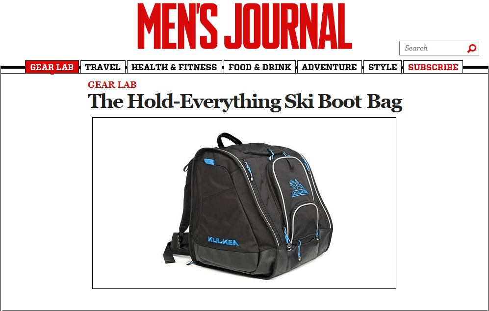 The Ski Boot Bag That Holds Everything