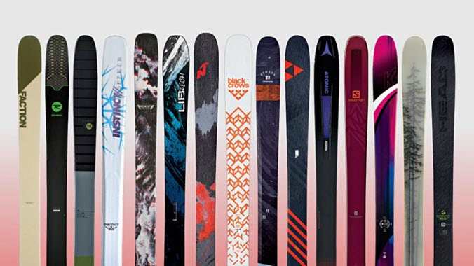 Best All Mountain Skis Powder