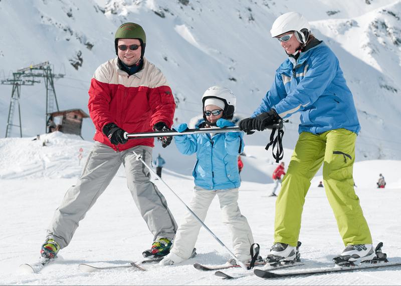 Teach Kids Ski