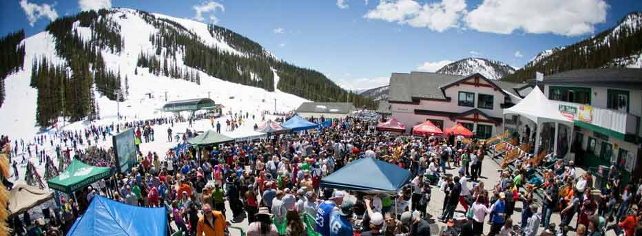 Spring Skiing And Mountain Events