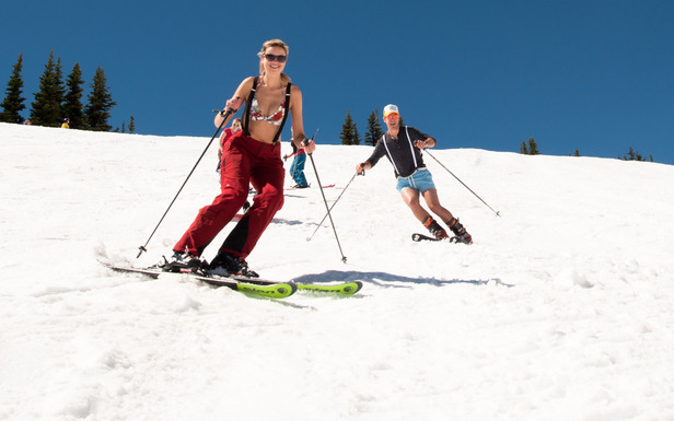 Spring Skiing How to