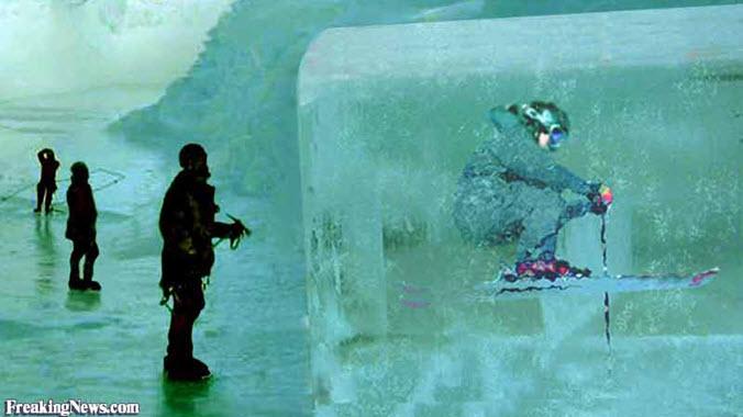 Frozen Skier Frost 3