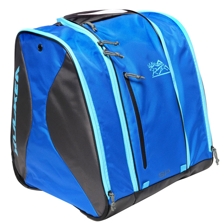 KULKEA Ski Boot Bag Speed Pack Ocean Blue Grey