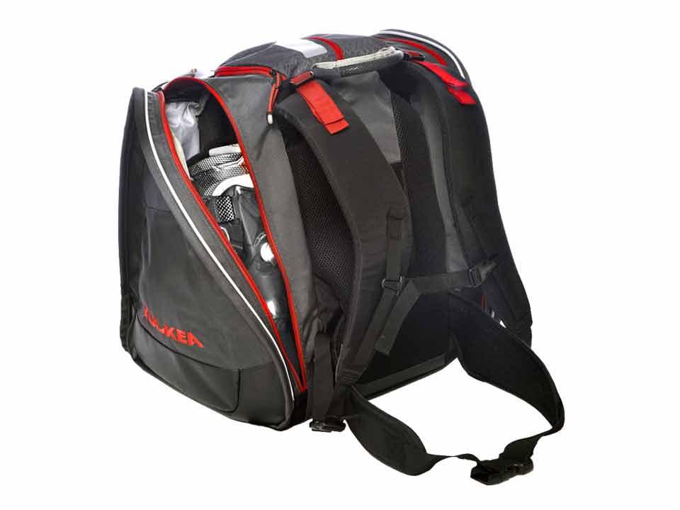 Best Ski Boot Bag Black Red Kulkea 2683