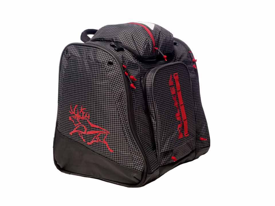 Black Red Ski Boot Bag Kulkea 3342