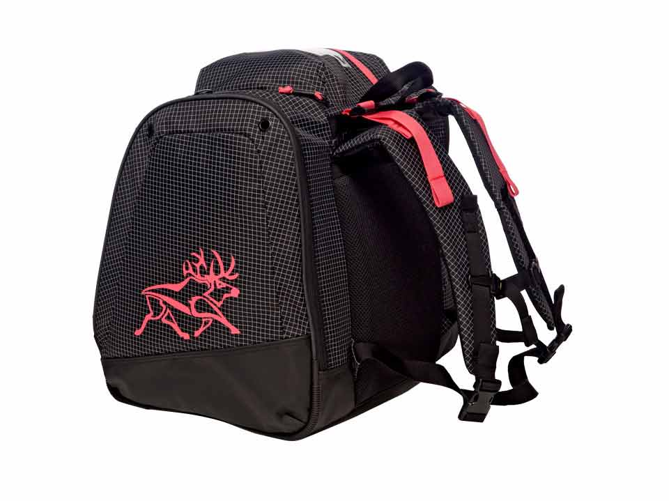 Girls Ski Boot Bag Support Pink Black 3357