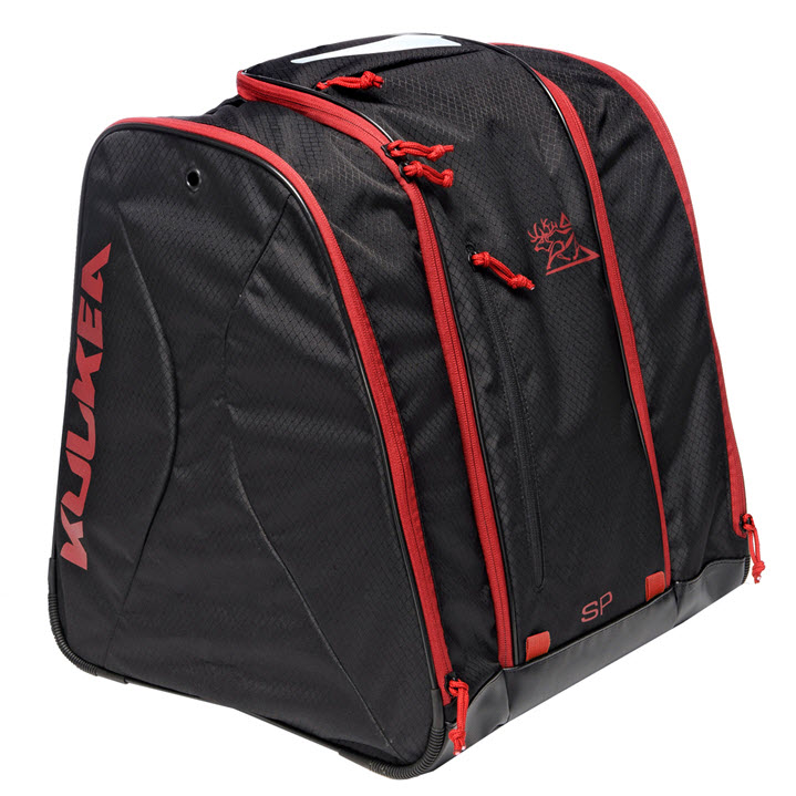 Kulkea Ski Boot Bag Speed Pack Black Red