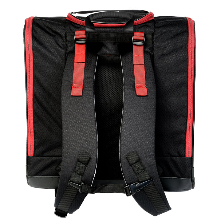 Kulkea Speed Pack Black Red Ski Boot Backpack