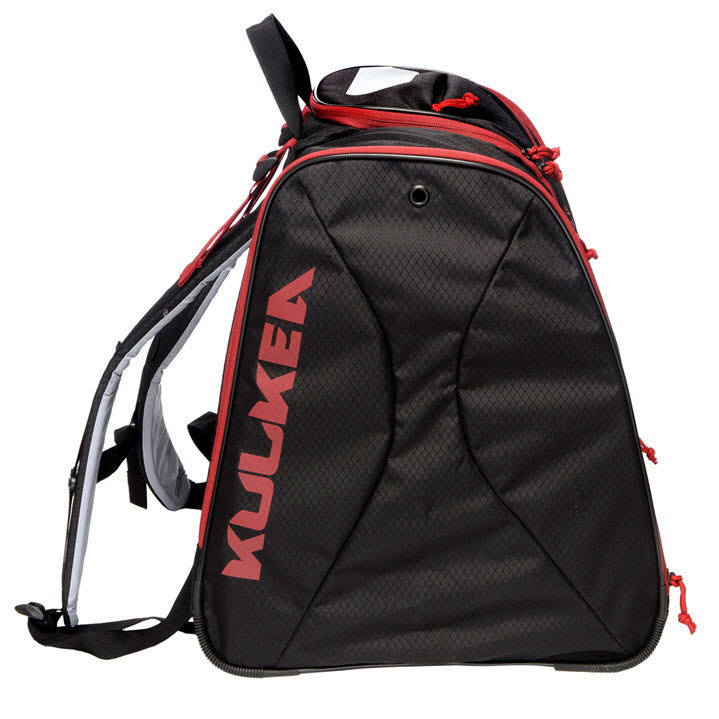 Kulkea Speed Pack Black Red Ski Boot Bag