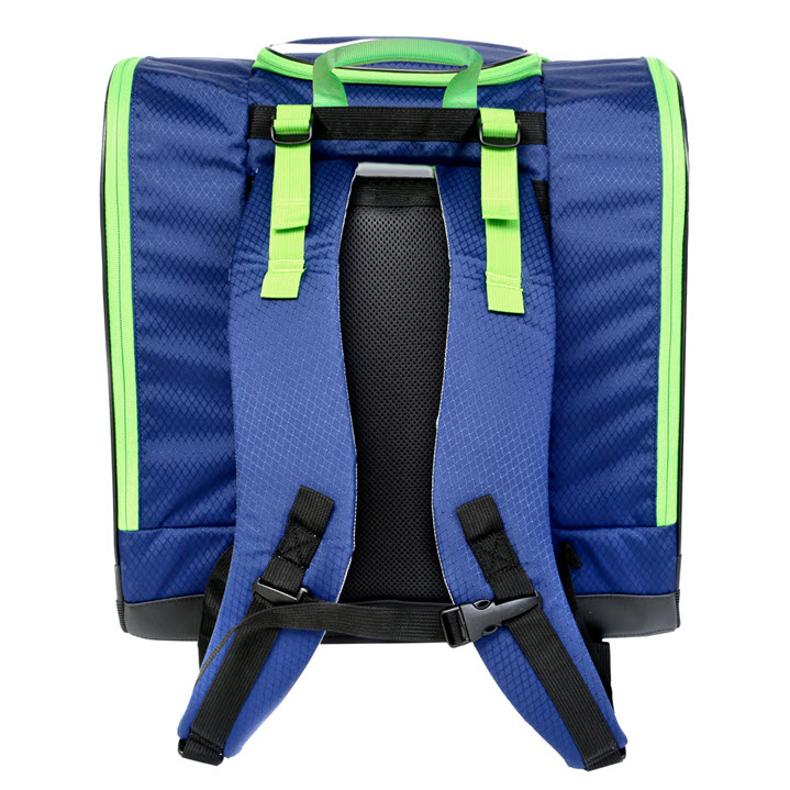 Kulkea Speed Pack Blue Green Ski Boot Backpack