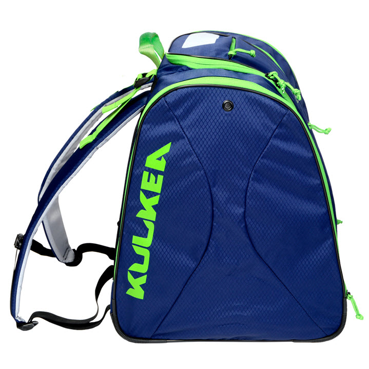 Kulkea Speed Pack Blue Green Ski Boot Bag
