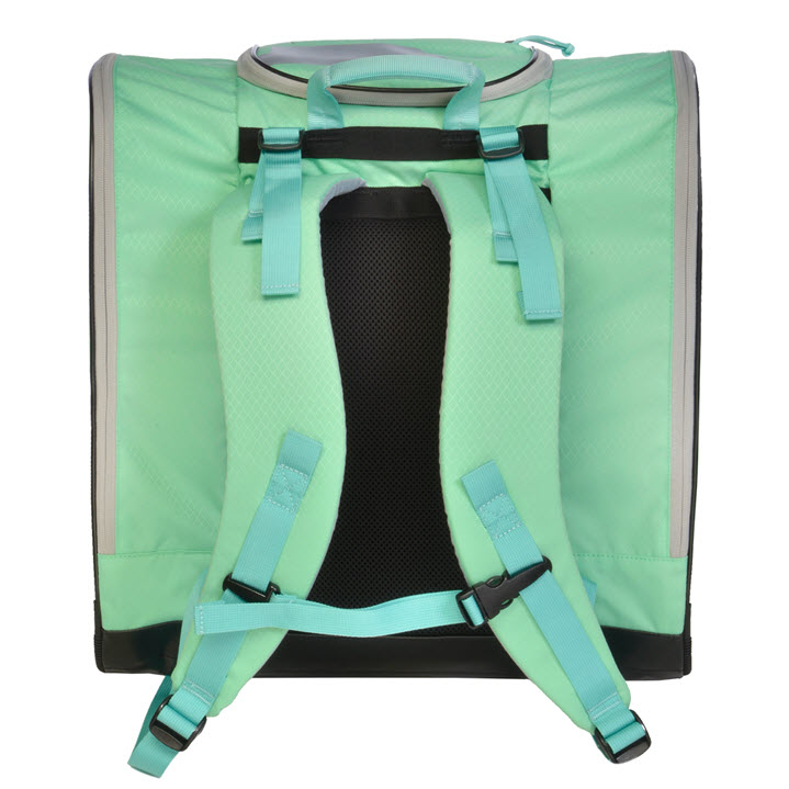 Kulkea Speed Pack Light Green Powder Blue Ski Boot Backpack