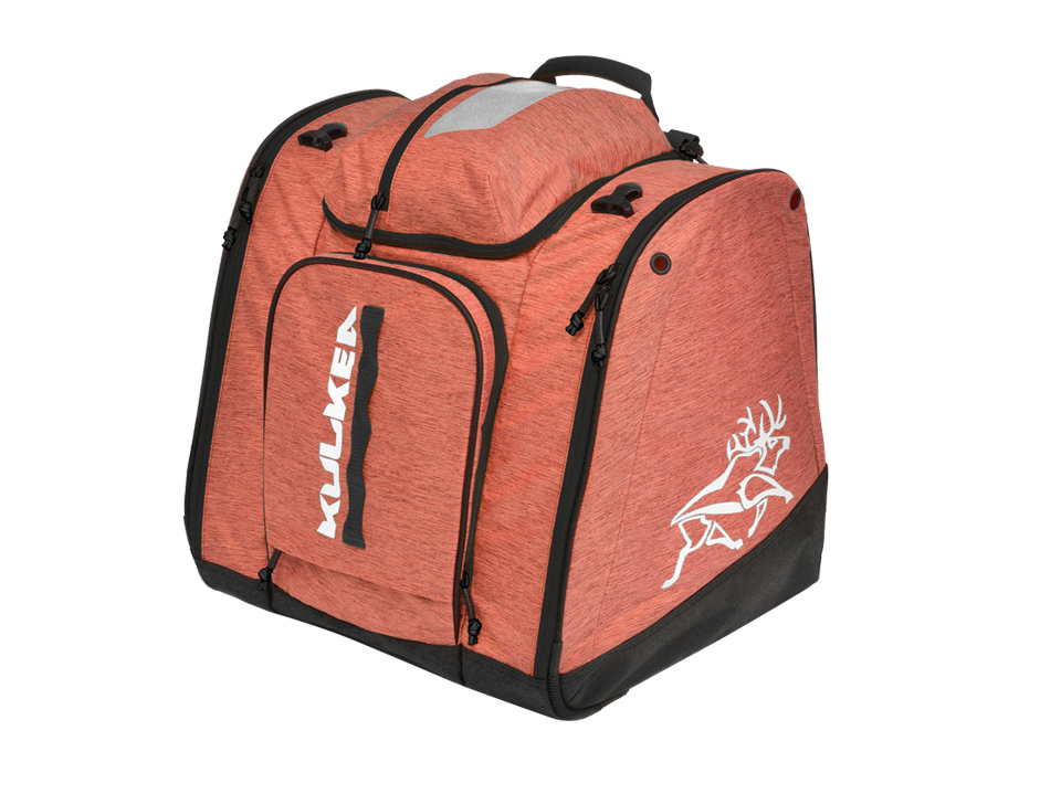 Ladies Coral Pink Ski Boot Bag Powder Trekker Kulkea 742