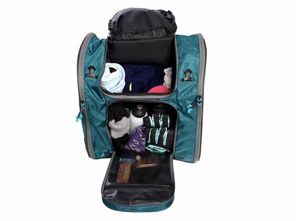 Organized Ski Boot Bag Powder 3720