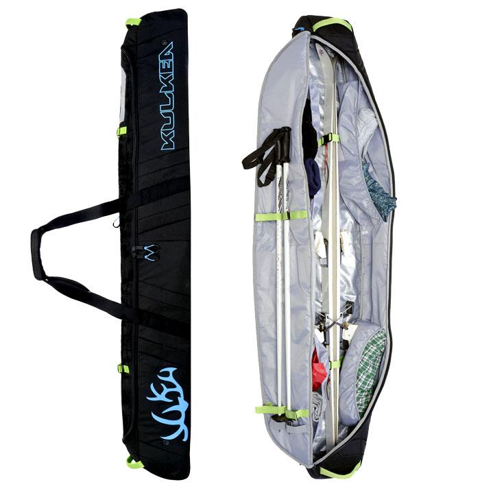 Padded Ski Bag Kulkea Kantaja Full