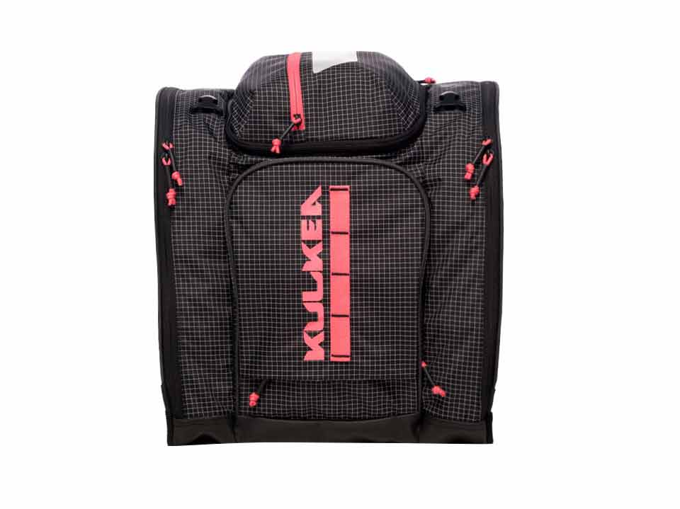 Pink Ski Boot Bag Powder Trekker Kulkea