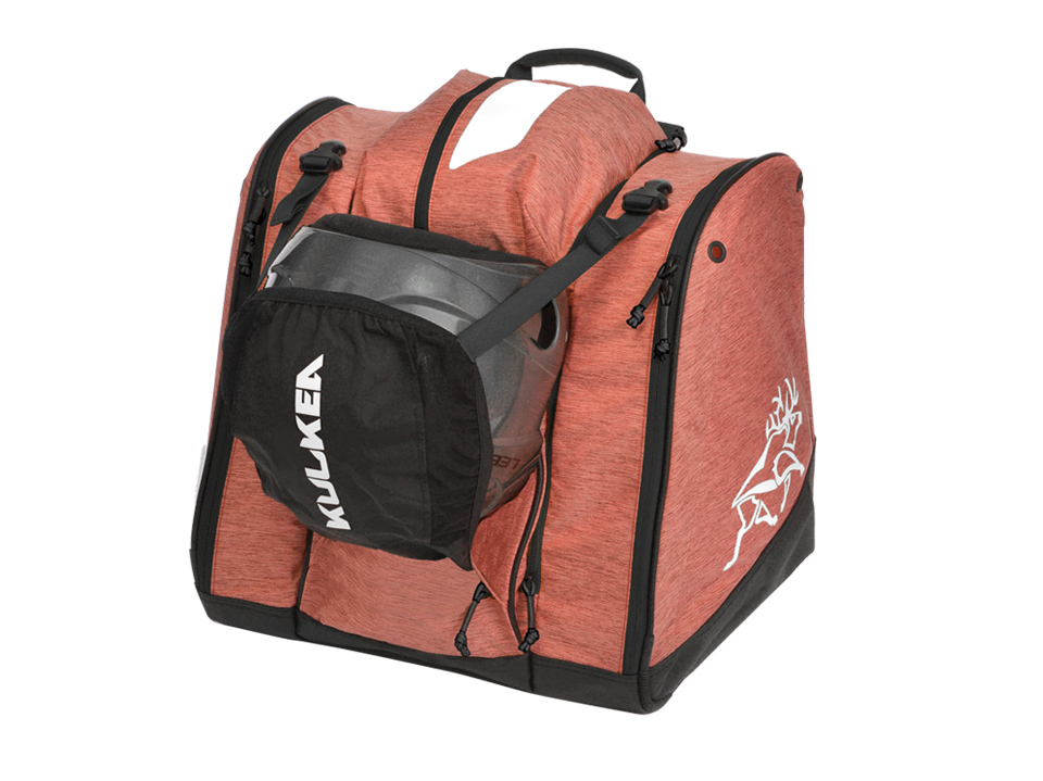 Powder Trekker Coral Ski Boot Helmet Bag Kulkea 9765