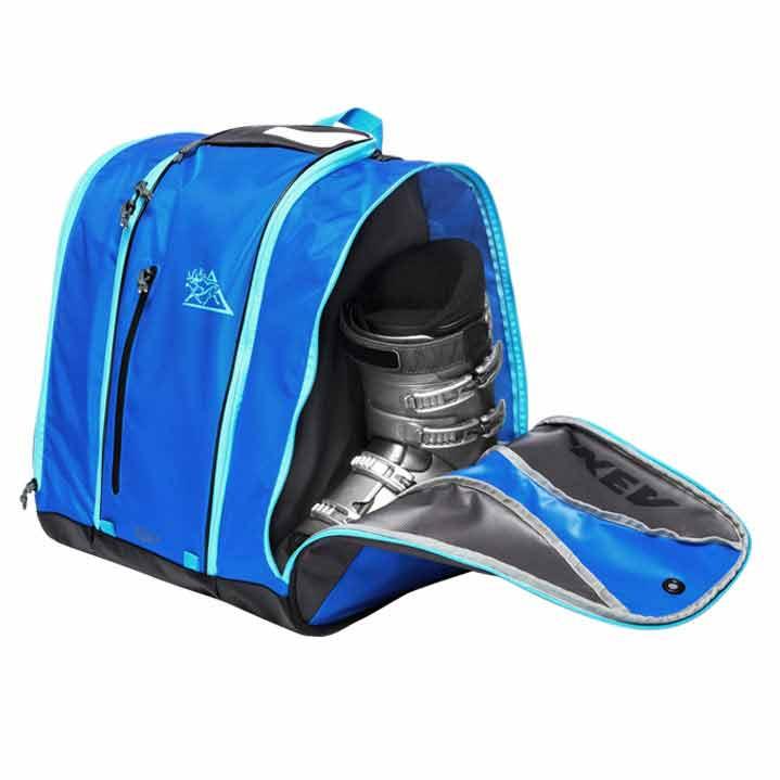 Ski Boot Back Pack Speed Kulkea Blue 9490