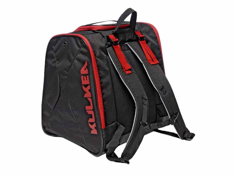 Ski Boot Backpack Kulkea Black Red