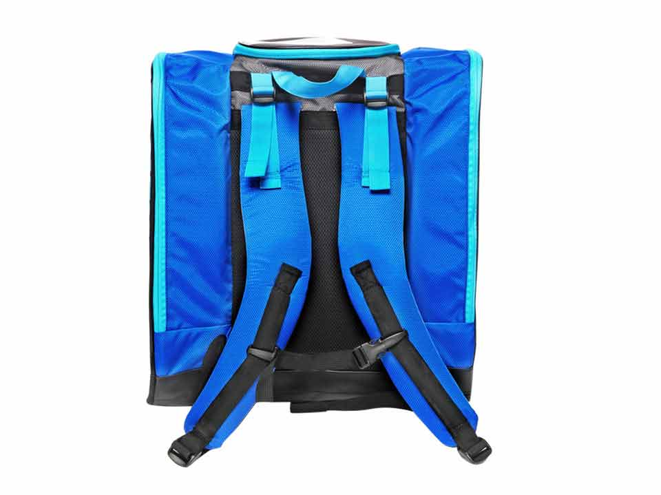 Ski Boot Backpack Kulkea Grey Blue 9488