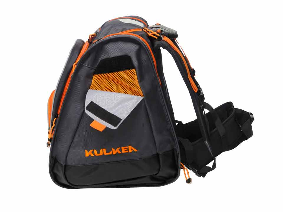 462dc5373c Ski Boot Bag Backpack Boot Grey Orange Trekker Kulkea 9607