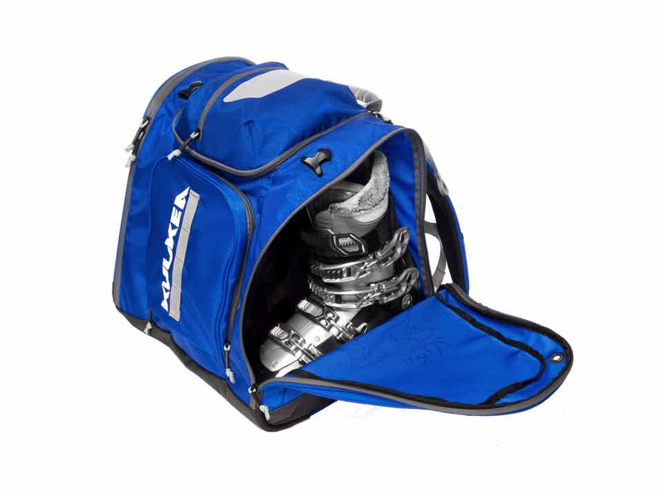 Ski Boot Bag Blue Powder Trekker Kulkea 2