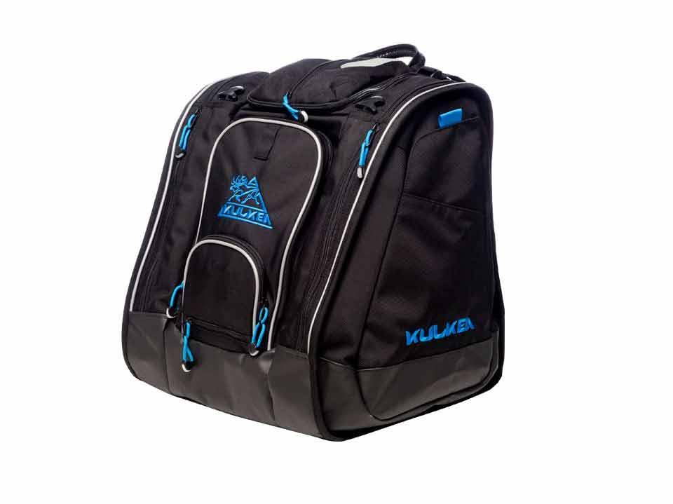 Ski Boot Bag Large Black Blue Kulkea 3262