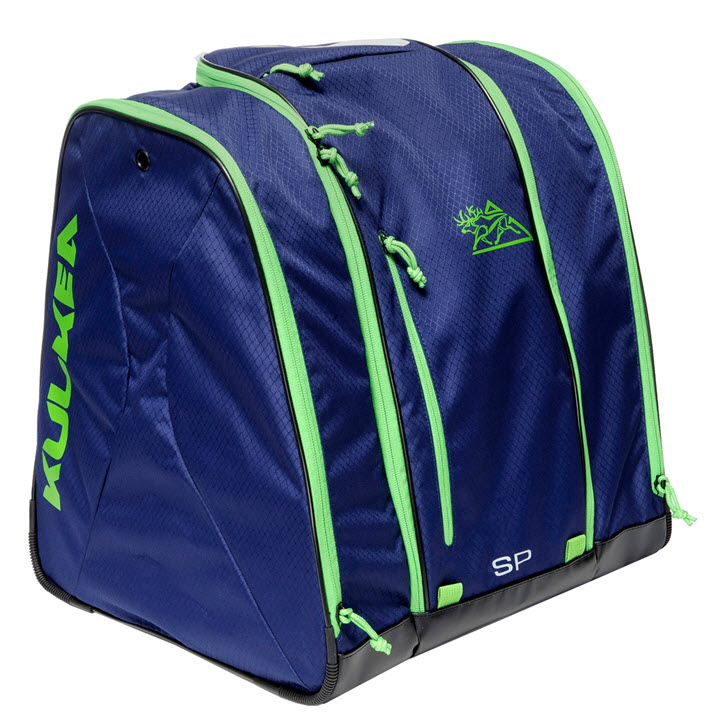 Ski Boot Bag Speed Pack Blue Green Kulkea