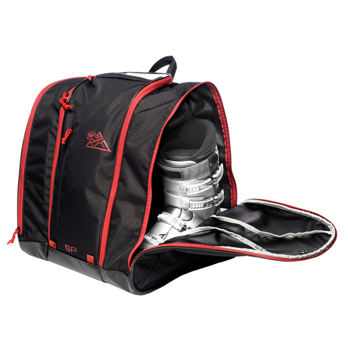Ski Boot Storage Kulkea Speed Pack Black Red