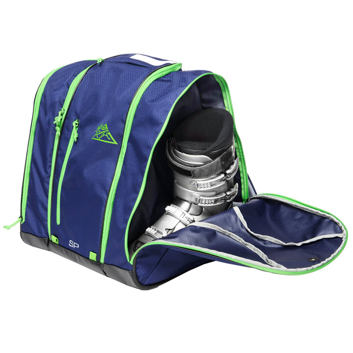 Ski Boot Storage Kulkea Speed Pack Blue Green