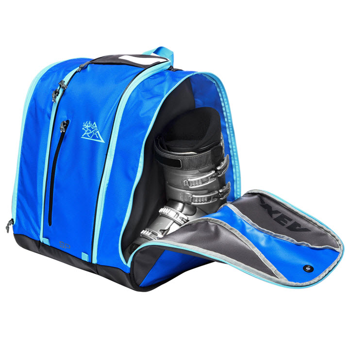 Ski Boot Storage Kulkea Speed Pack Ocean Blue Grey