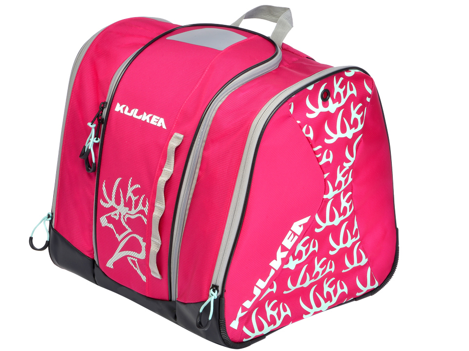 Speed Star Girls Fuchsia Pink Ski Boot Bag Kulkea 9686