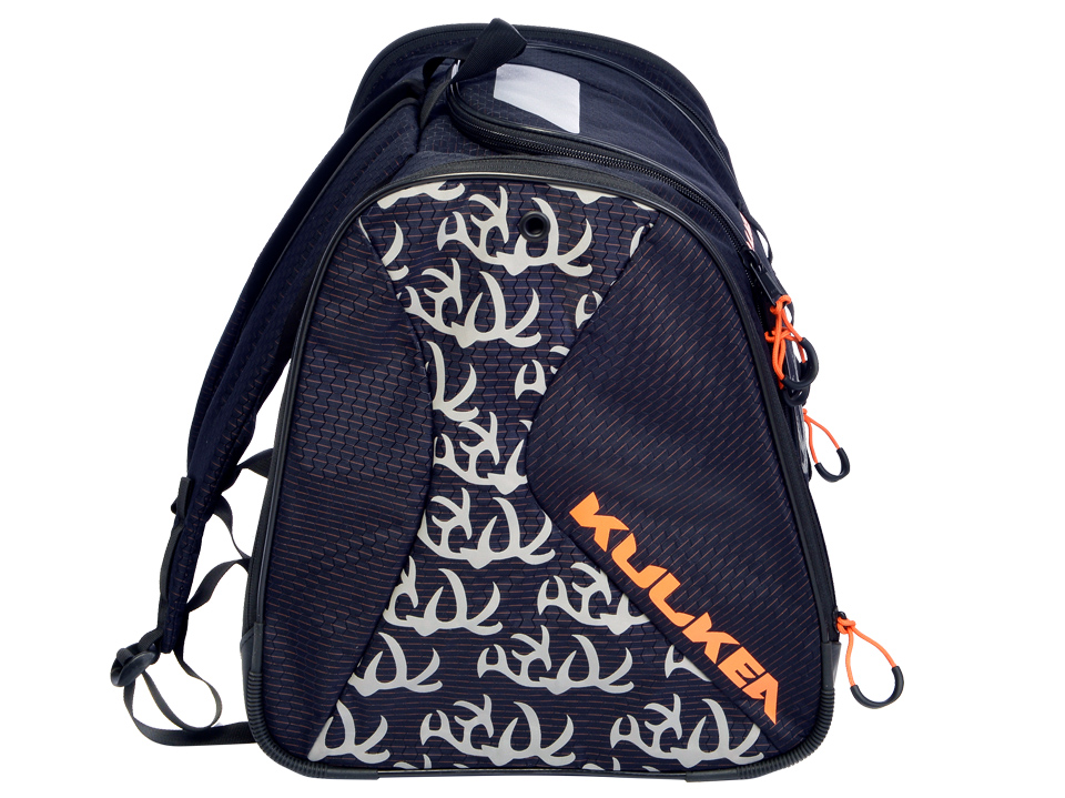 Speed Star Navy Blue Orange Junior Ski Boot Bag Kulkea 9712