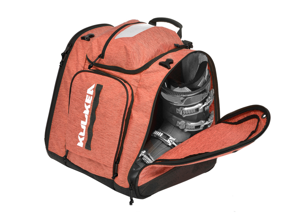 Womens Ski Boot Bag Coral Powder Trekker Kulkea 9770