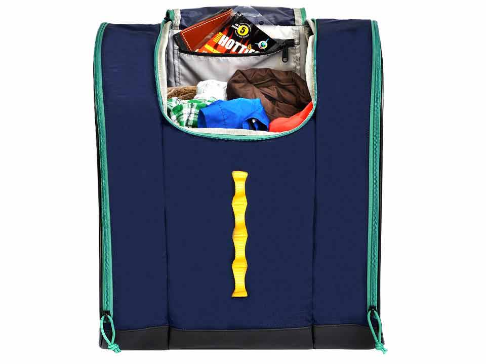 Blue Ski Boot Backpack Talvi Kulkea 3271a