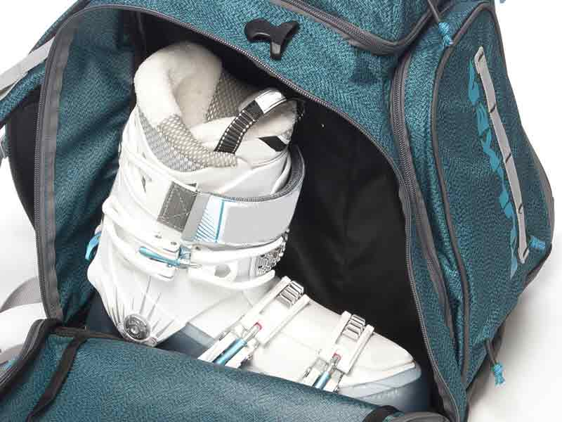 Full Side Zippers Ski Boot Bag