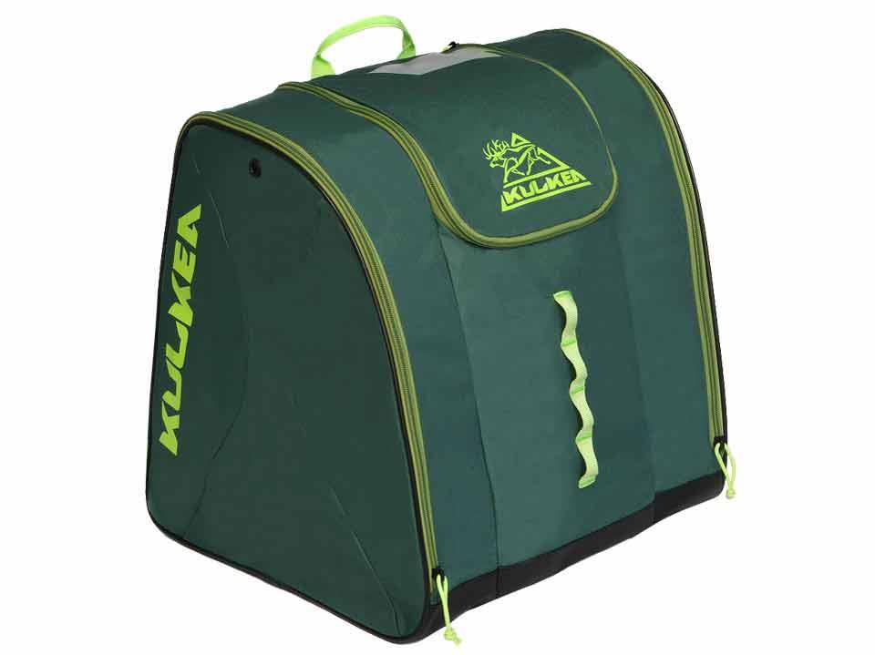 Green Ski Boot Bag Kulkea Talvi 3378a