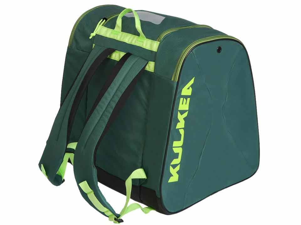 Green Ski Boot Bag Talvi Kulkea 3374a