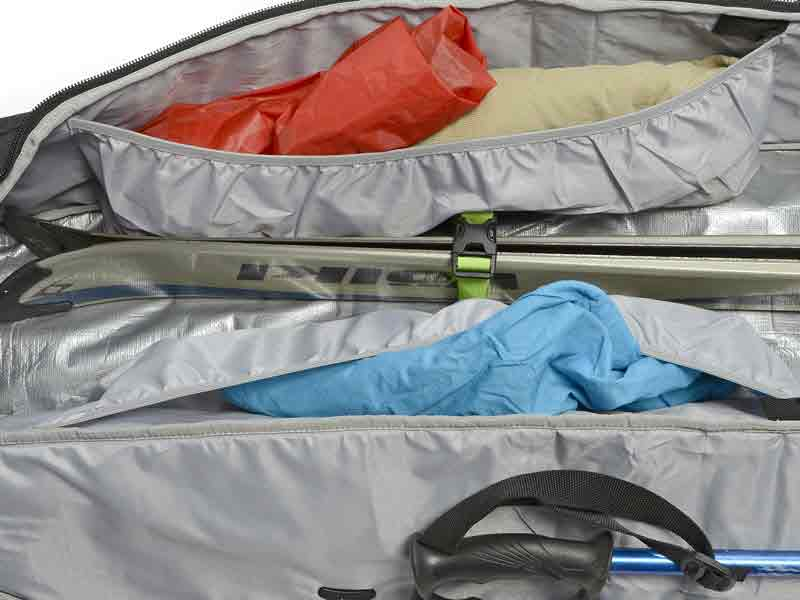 Interior Stretch Pockets Ski Bag