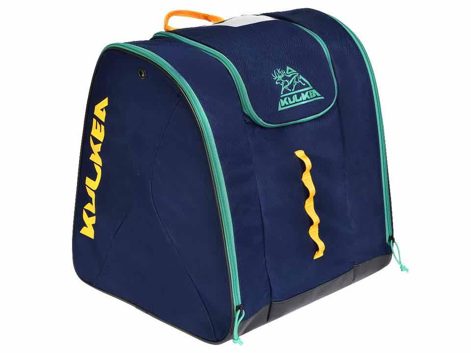 Navy Blue Ski Boot Bag Kulkea Talvi 3249a