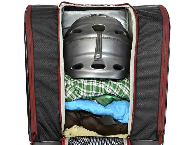 Open Pack Design Ski Boot Bag
