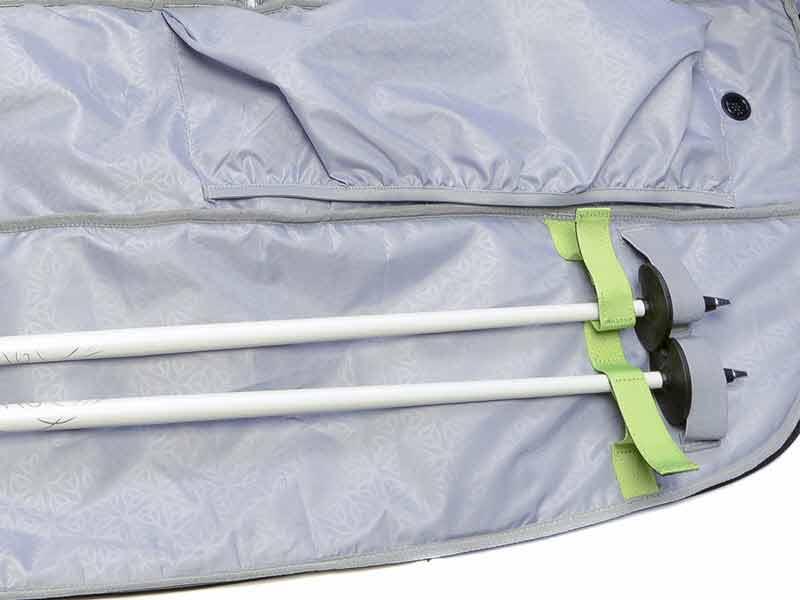 Pole Grabber Ski Straps Bag