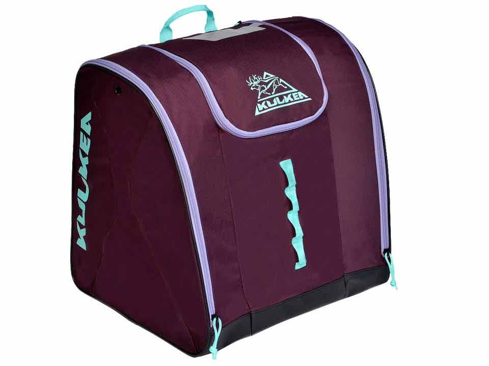 Purple Ski Boot Bag Kulkea Talvi 3405
