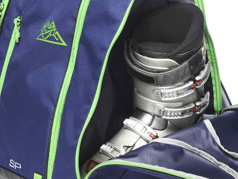 Shaped Boot Pockets Ski Boot Bag
