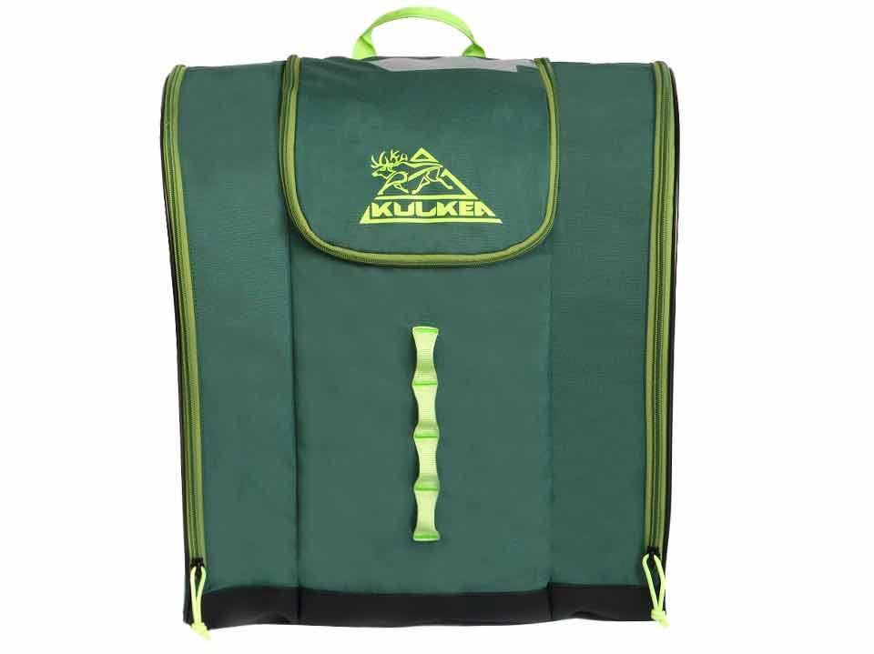 Ski Boot Backpack Green Talvi Kulkea 3362a