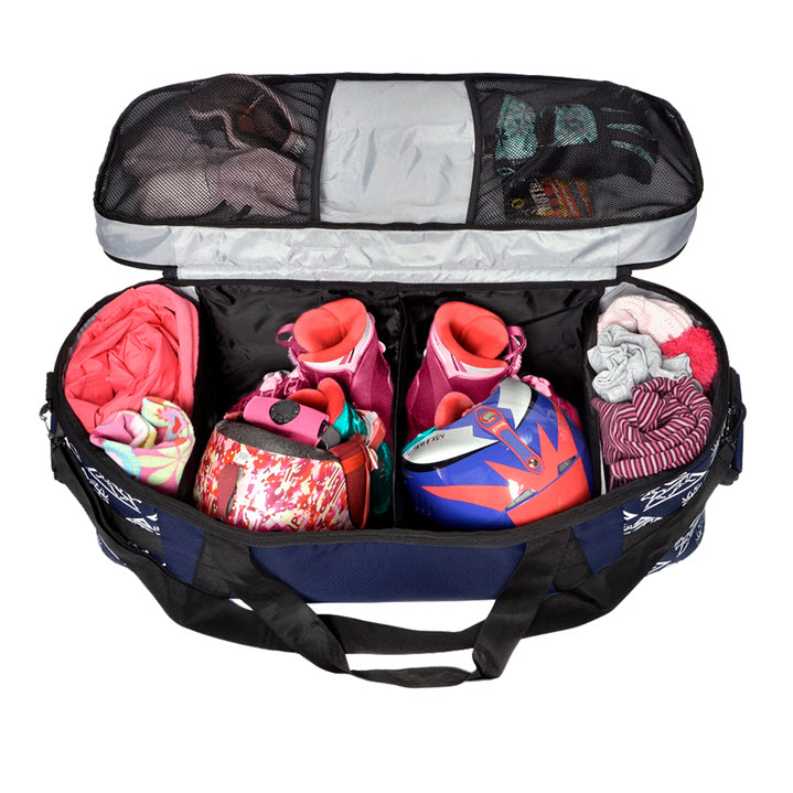 Ski Boot Duffle Bag Kids Kulkea Tandem