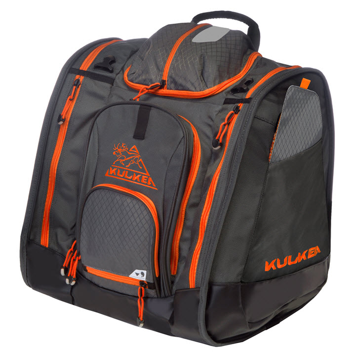 Best Ski Boot Bag 2019 Kulkea Boot Trekker Grey Black Orange