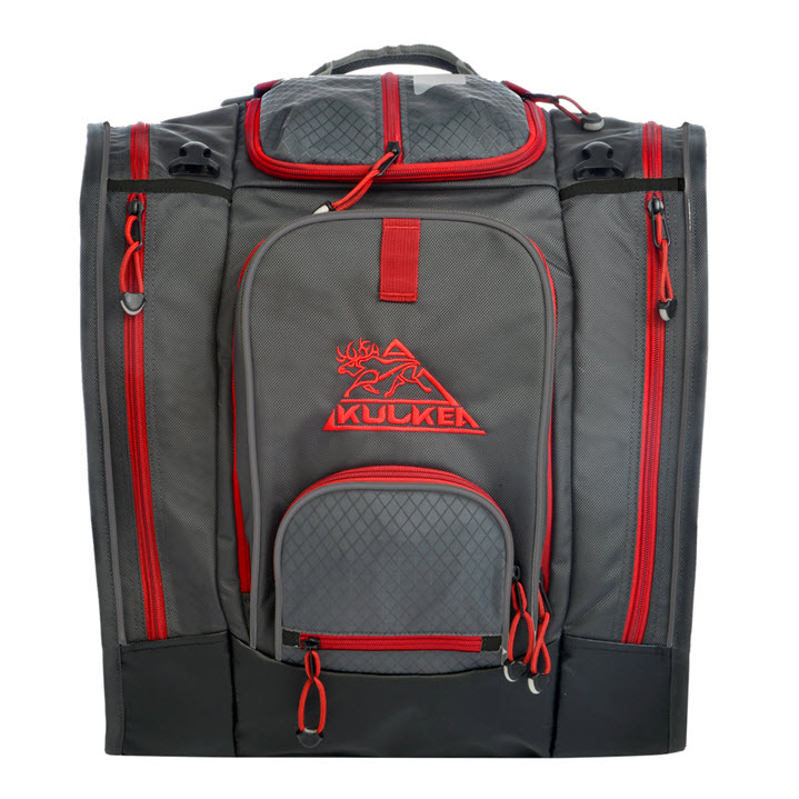 Best Ski Boot Bag 2020 Kulkea Boot Trekker Grey Black Red